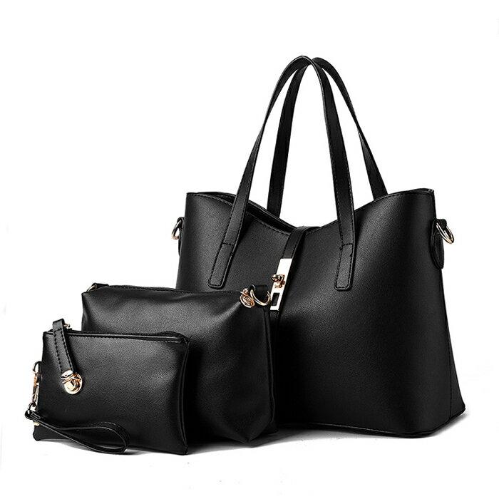 歐美時尚經典簡約氣質包中包三件組 #KLY8884 4