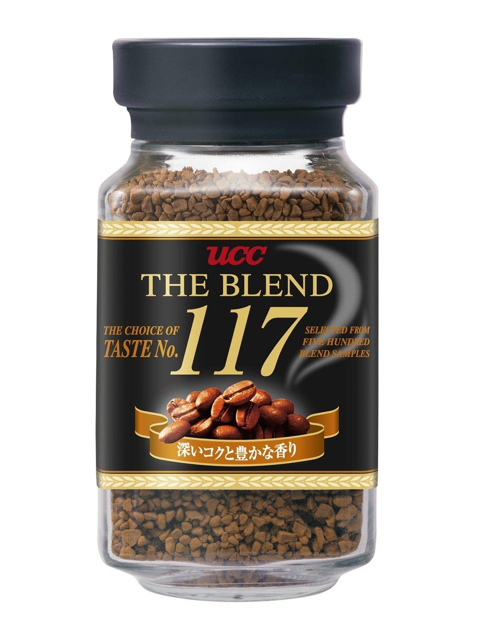 《Chara 微百貨》 日本 UCC 經典 the blend 114 117 即溶 咖啡罐 90g 原裝進口 2