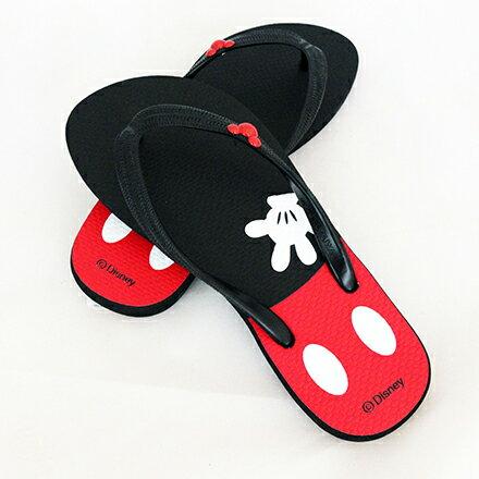 【敵富朗超巿】正版米奇米妮夾腳拖鞋-40 2