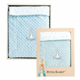 【淘氣寶寶】奇哥PeterRabbit比得兔豆趣兩用被-藍PLB74900【奇哥正品】