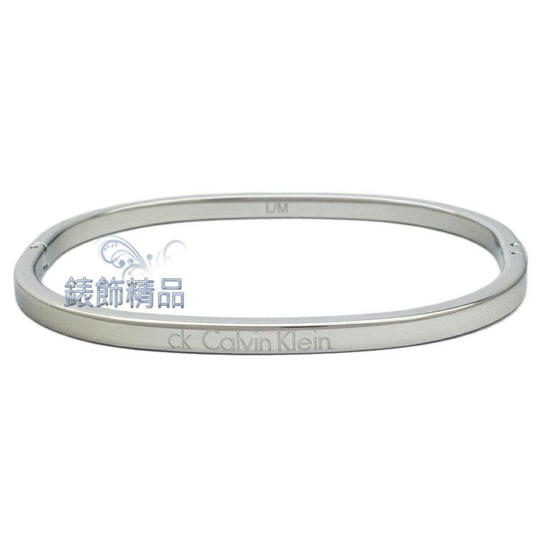 【錶飾精品】Calvin Klein CK飾品 KJ06MD0001-女性細手環 316L白鋼 全新原廠正品 生日禮品