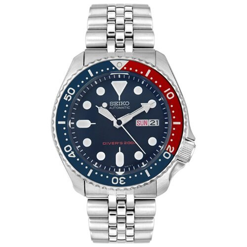 7294eeb10 passthewatch  Seiko Diver Watch Automatic 200m Stainless Steel ...