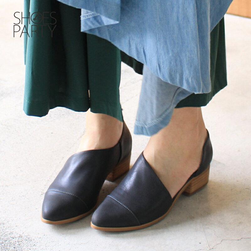 【P2-17825L】外側簍空真皮踝靴_Shoes Party 1