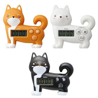 日本柴犬電子計時器冰箱磁鐵側站三款779433代購