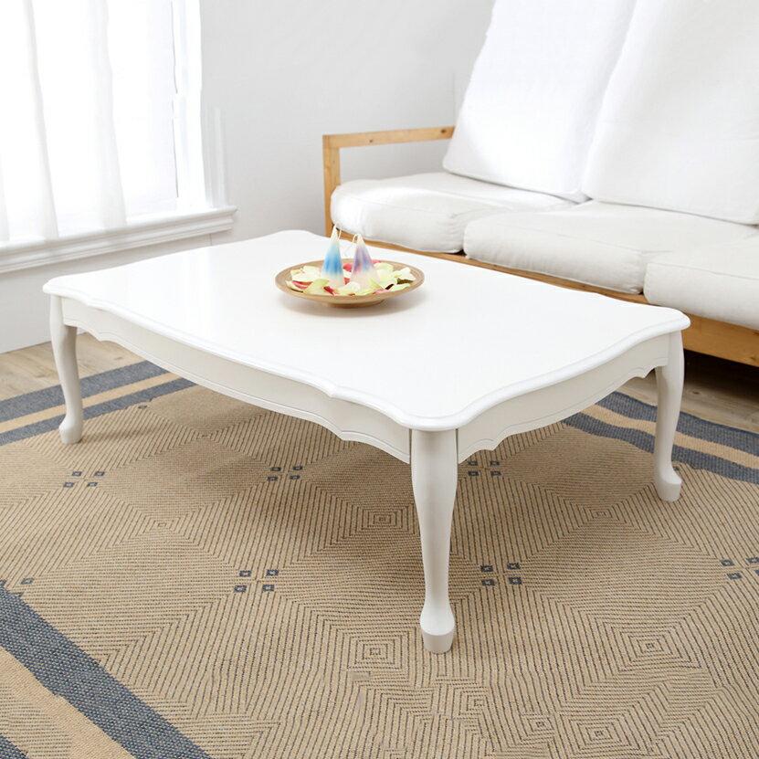 【雕刻公主風大尺寸和室桌】矮桌 / 茶几桌 / 日式 75X120(單色) ★日本設計台灣製造●高屋<T01-001> 0