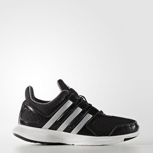 《限時特賣↘6折免運》ADIDAS HYPERFAST 2.0 K 女鞋 慢跑 輕量 黑 銀 【運動世界】 AQ3873