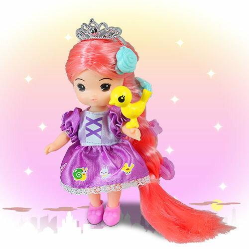 《MIMI 扮家家酒玩具》長髮公主-MI14554