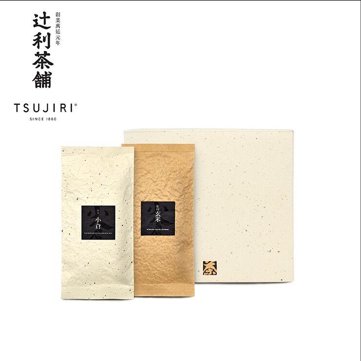 【辻利茶舗】日本茶茶葉禮盒(小倉煎茶+松印玄米茶)~日本茶鑑定士監製~最佳送禮優惠首選 - 限時優惠好康折扣