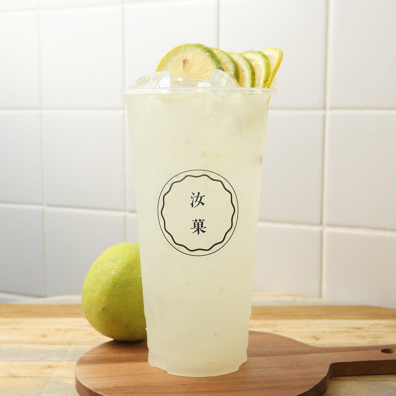 【汝菓】檸檬片片 L (冷) 700 c.c.★水果風味★電子票券