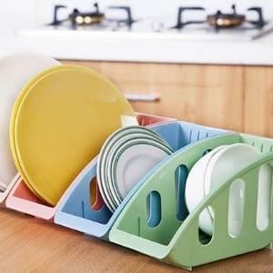 美麗大街【BF321E21】廚房用品碗碟收納架 盤子碟子鍋蓋餐具整理架置物架