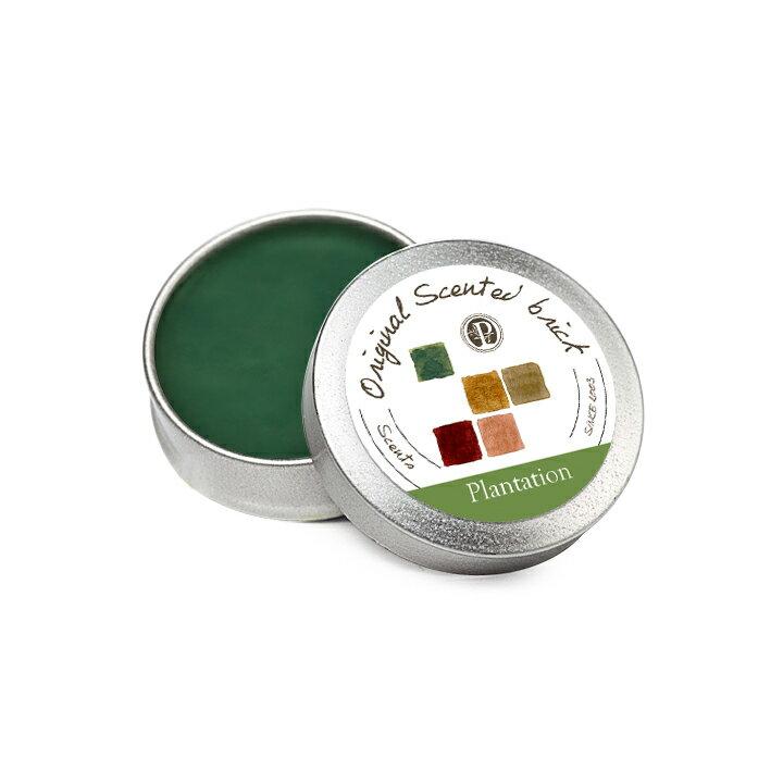 【OP 窩居小徑】Plantation 森林植園 精油芳塊香磚-12g±2 隨身盒,純手工製作