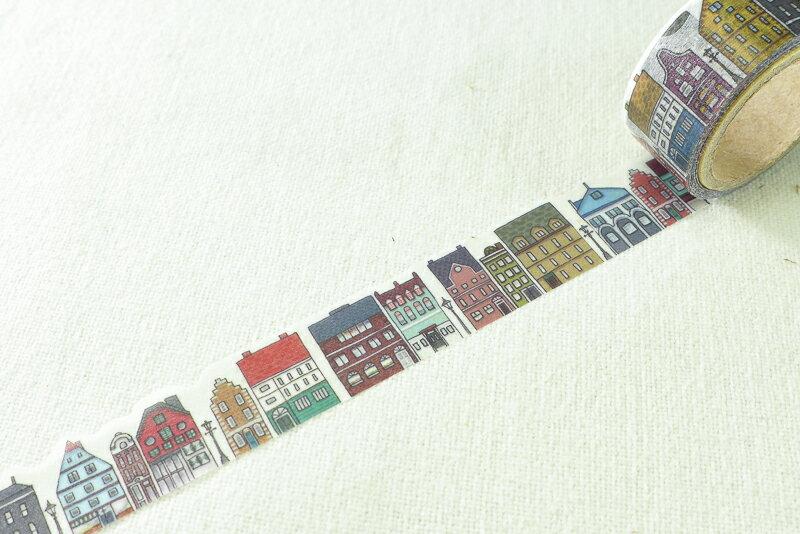 ~小徑文化~  Yano design 和紙膠帶 ~ 北歐街道   YD~MK~019