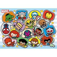漫威英雄Marvel 周邊商品推薦【P2 拼圖】Marvel Kawaii 漫威可愛(1)拼圖108片 HPM0108-005
