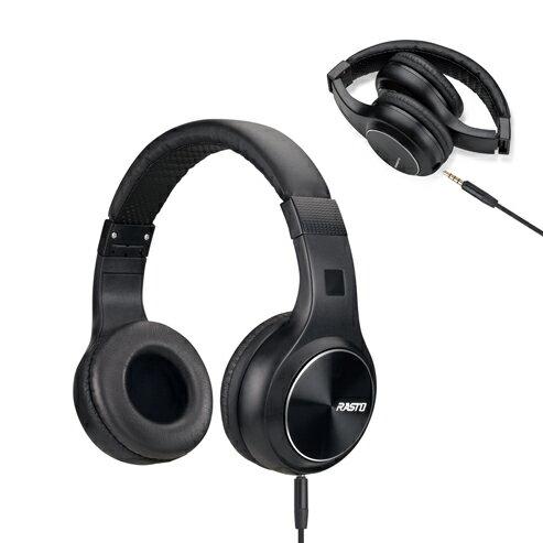 E-booksRASTORS4黑潮流耳罩式耳機支援安卓iOS系統遊戲耳機耳機麥克風電腦耳機【迪特軍】