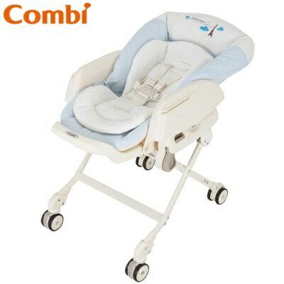 Combi 電動餐搖椅 (型號Letto ST / 藍色巴黎 )