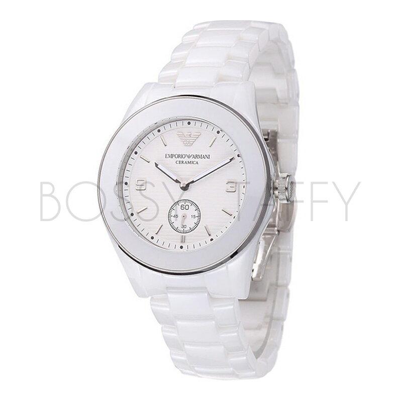 AR1425 ARMANI 亞曼尼 簡約潮流陶瓷石英錶 女錶