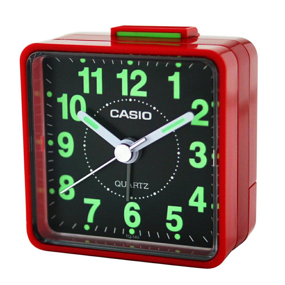 CASIO 卡西歐 TQ-140 袖珍型夜光石英鬧鐘 1