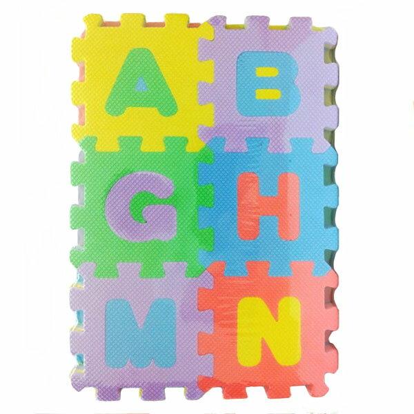 【aifelife】字母數字地板拼圖(36片裝)兒童學習認字學字數字道具幼教算數符號贈品禮品