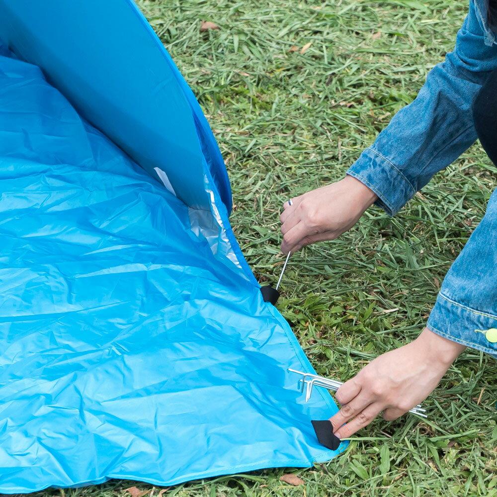 戶外海灘帳篷  長165cm寬150cm高110cm 輕巧好攜帶 1