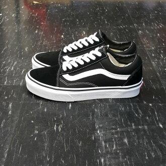 VANS Old Skool Black/White 黑白 黑色 麂皮 帆布 基本款 滑板鞋
