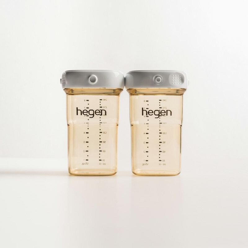 新加坡【hegen】金色奇蹟PPSU多功能萬用瓶240ml (雙瓶組) _好窩生活節 0