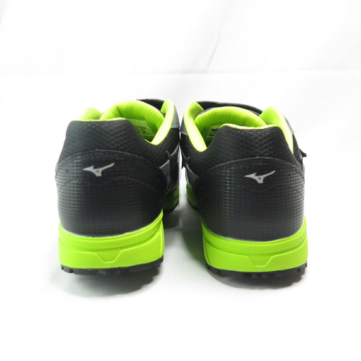 【滿額領券折$150】Mizuno LS防護鞋 男款 工作安全鞋 魔鬼氈 F1GA200905 灰綠【iSport愛運動】