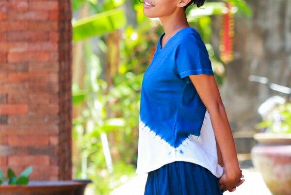 【Bali】100%有機棉IkatT恤 瑜珈服 5