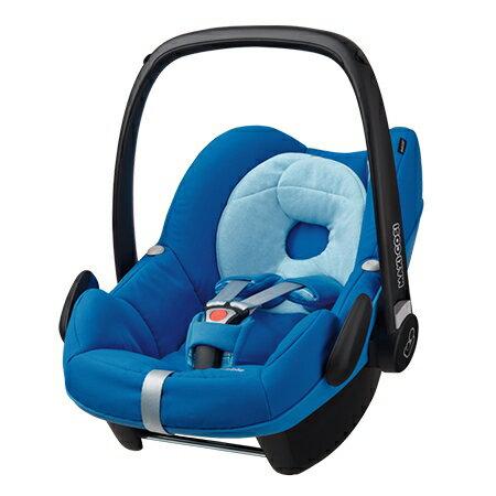 【贈原廠提籃雨罩 】荷蘭【Maxi-Cosi 】Pebble 新生兒提籃(汽車安全座椅)(頂級款)-5色(黑-2月中到貨) 4