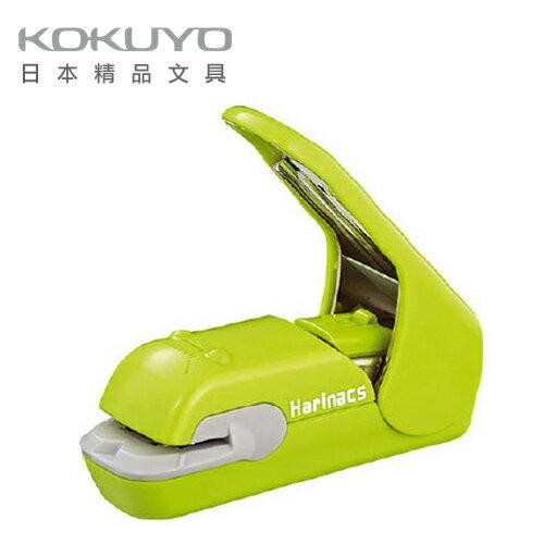 【原廠公司貨】 日本 KOKUYO ? 無針訂書機美壓版5枚 SLN-MPH105G-青綠 / 支