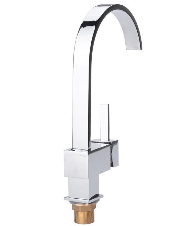 Contemporary Kitchen Bar / Bathroom Vessel Sink Faucet Swivel Spout 2