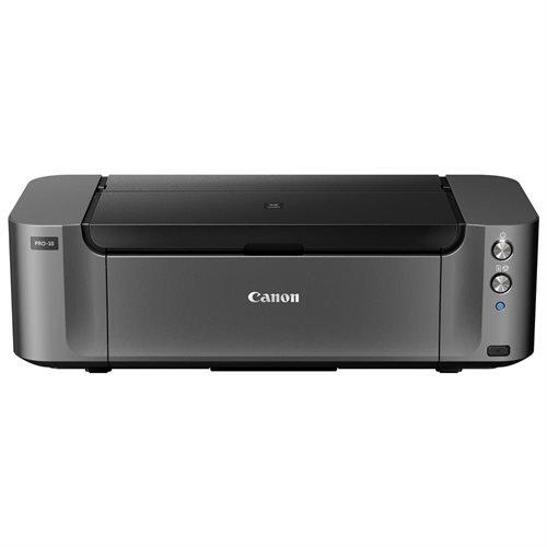 Canon PIXMA Pro PRO-10 Inkjet Printer - Color - 4800 x 2400 dpi Print - Photo/Disc Print - Desktop - 3.6 Second Photo - 150 sheets Standard Input Capacity - Ethernet - Wireless LAN - USB - PictBridge