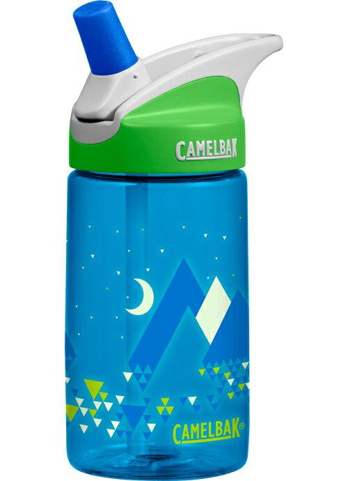 Camelbak 兒童水壺/吸管運動水瓶/吸管水瓶 eddy 400ml CB54175 寧靜雪山