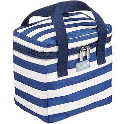 《KitchenCraft》點心保冷袋(條紋藍4.9L)