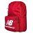 Shoestw【NTBCBPK8RD】NEW BALANCE NB 背包 休閒 運動 後背包 筆電包 紅色 白色大LOGO 1