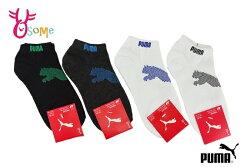 PUMA NOS 跳豹腳踝襪 運動襪 台灣製 襪子 一雙入 SX357 #黑綠#黑藍◆OSOME奧森鞋業