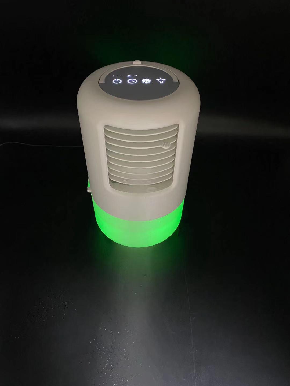2021年新款桌面空調扇迷你手提充電辦公室家用七