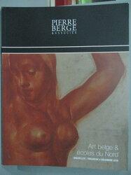 【書寶二手書T4/收藏_QJO】ART BELGE & ECOLES DU NORD_04_12_16