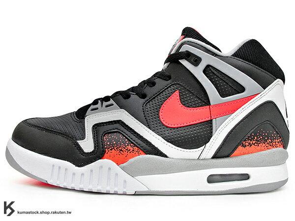 [26.5cm] 2020 NIKE LAB 限量發售 NIKE AIR TECH CHALLENGE II ANN QS BLACK LAVA 黑白紅 復古網球鞋 YEEZY 原型中底 阿格西 Andre Agassi 熱溶紅 (CQ0936-001) ! 0