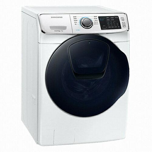 【領券95折無上限】110/5/30前回函抽吸塵器 Samsung 三星 WD17N7510KW 17kg  洗脫烘 洗衣機 AddWash 潔徑門系列