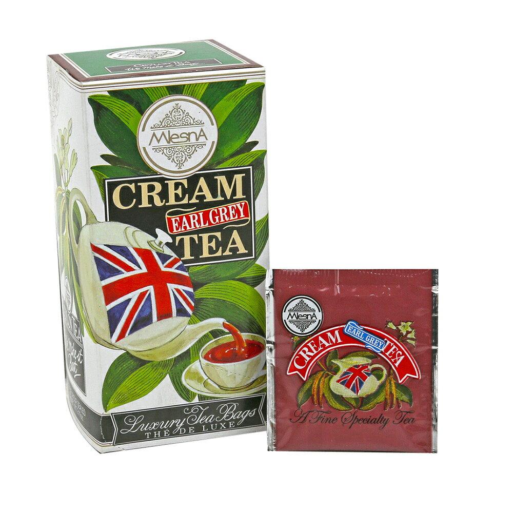 曼斯納 MlesnA - Cream Earl Grey 奶香伯爵茶 (30入/盒) 錫蘭紅茶/茶包/茶葉