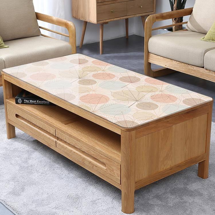 茶幾桌布軟塑料玻璃防水防燙防油免洗餐桌墊pvc水晶板客廳茶幾墊