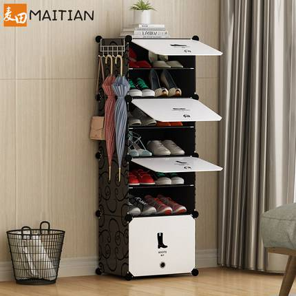 簡易鞋櫃多層家用省空間宿舍女門口小鞋架子置物架防塵組裝經濟型