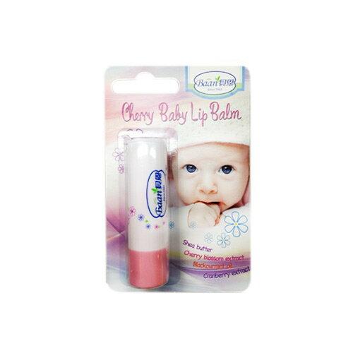 ★衛立兒生活館★貝恩 BAAN 嬰兒櫻桃修護唇膏-4.8g Baby Lip Balm(櫻桃)
