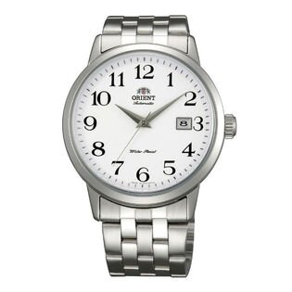 ORIENT東方錶ClassicDesign系列(FER2700DW)大數字日期顯示機械錶白面41mm