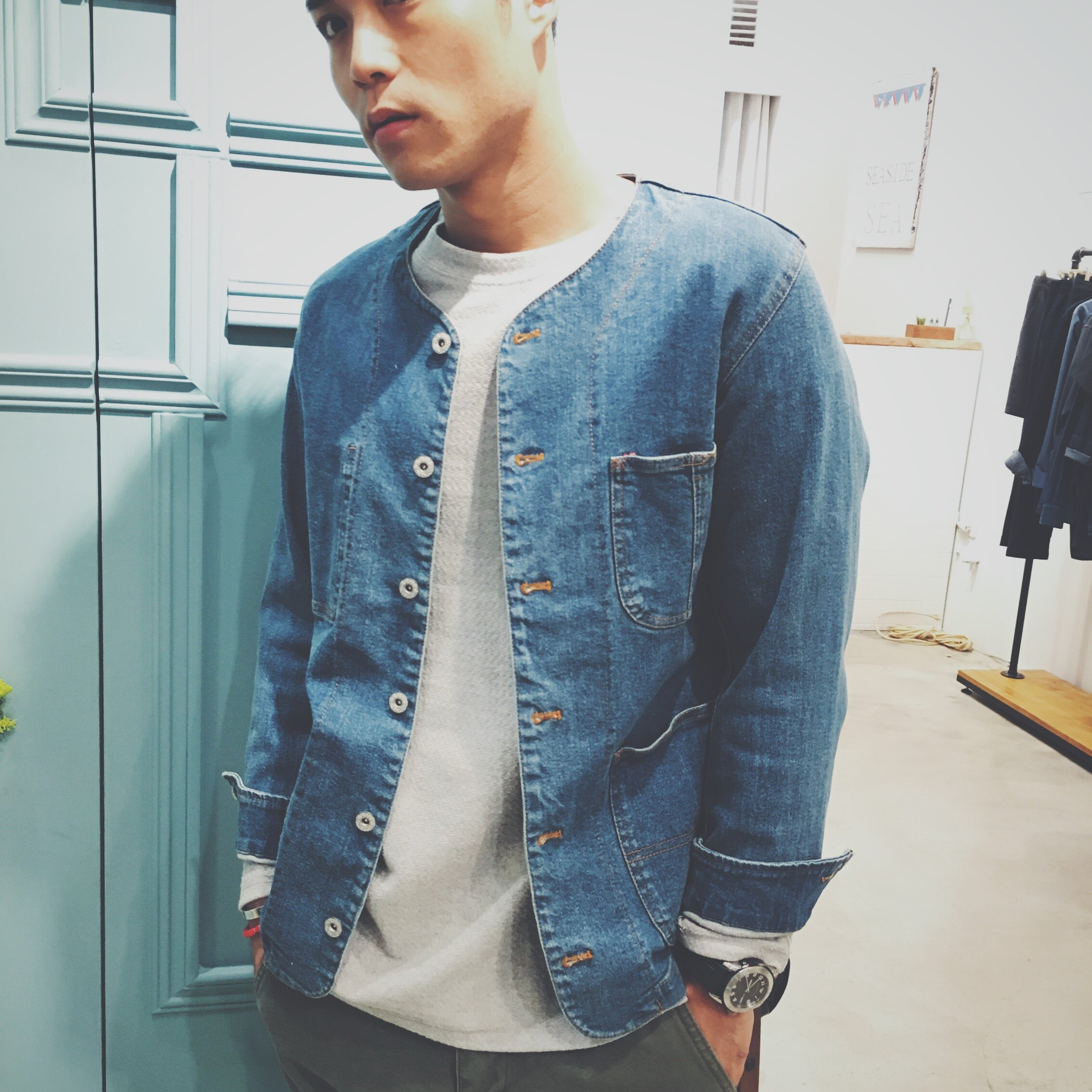 【CANVAS】denim jacket 2