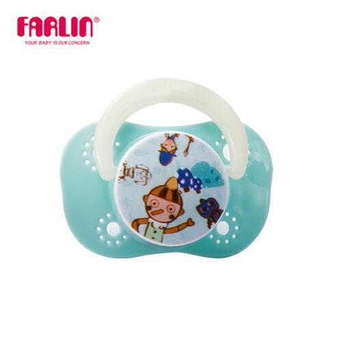 【Farlin】啾啾安撫奶嘴(櫻桃型/小) - 藍色(媽咪用品 親子 嬰幼兒)