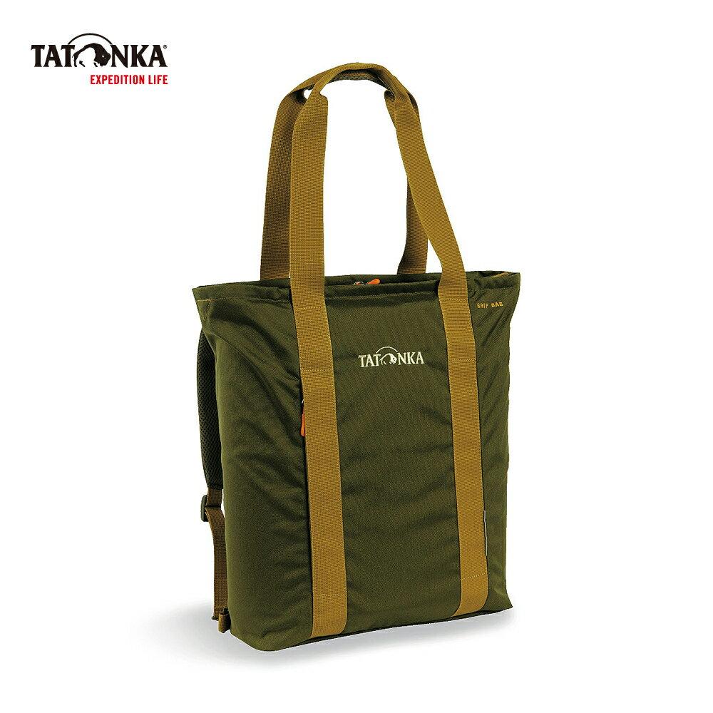 德國TATONKA Grip Bag 托特包 橄欖綠 -TTK1631-331