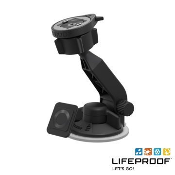 LIFEPROOF 超強力吸盤快拆式汽車車架 (黑)