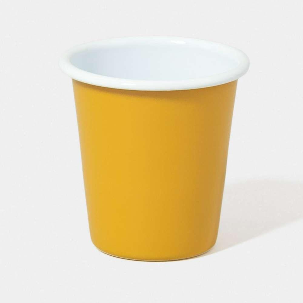 【英國Falcon獵鷹琺瑯】水杯 茶杯 310ml 芥末黃 -618年中慶