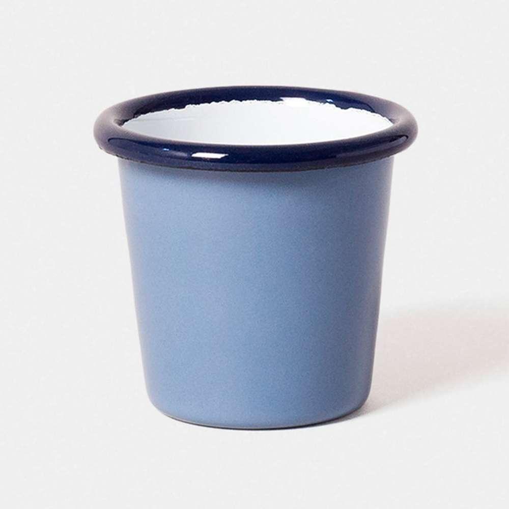 【英國Falcon獵鷹琺瑯】迷你水杯 茶杯 124ml 長春藍 -618年中慶